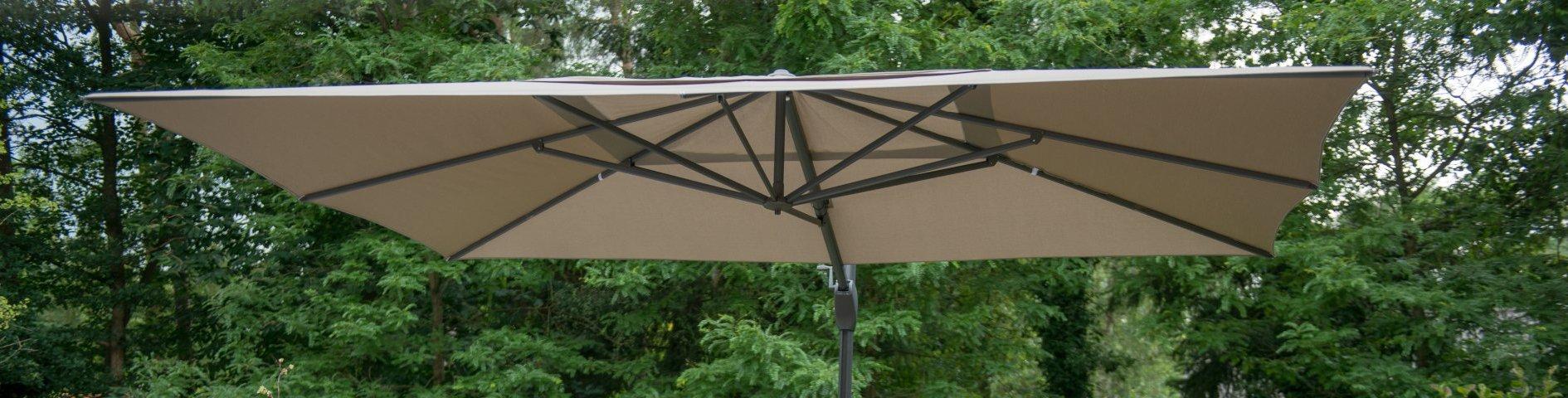 rechthoekige parasols