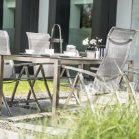 4 seasons outdoor slimm tuinset ash grey verstelbaar rvs sfeer 1 copy