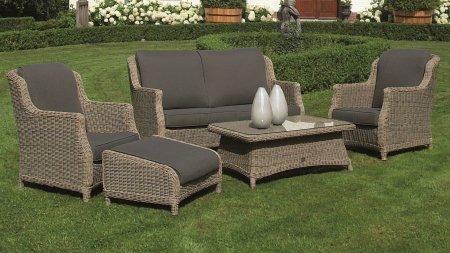 4 seasons outdoor brighton loungeset pure