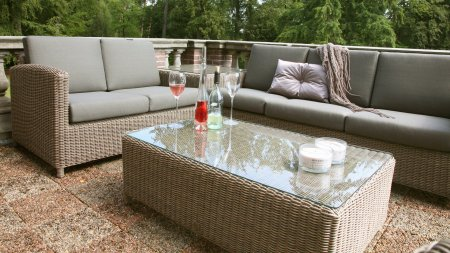 4 seasons outdoor lodge hoek loungeset pure