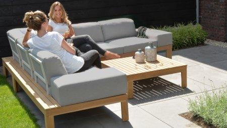 4seasons outdoor mistral teak loungeset