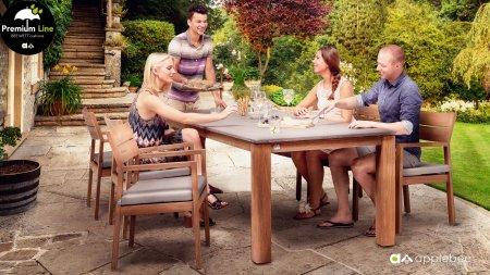applebee square teak set tafel berkeley