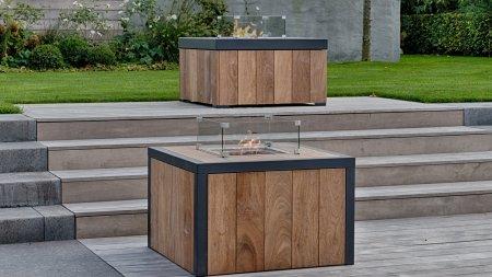 Easyfires Houten Vuurtafels buitenhaarden salontafel camaru hardhout aluminium
