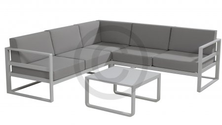 taste 4by 4seasons aruba loungeset slate grey