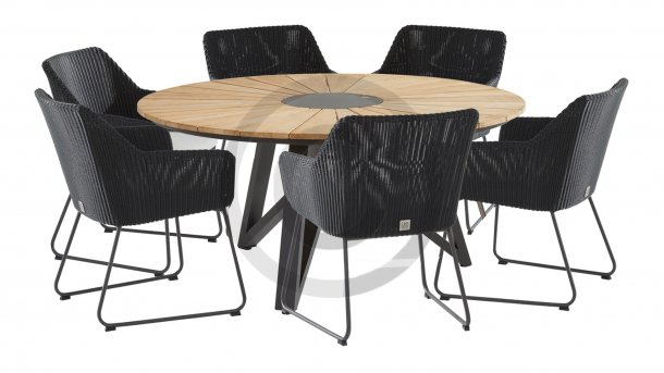 4seasons outdoor avila dining globe tafel rond