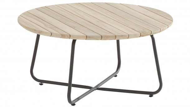 4 seasons outdoor axel salontafel 73cm teakhout