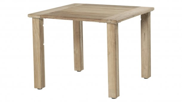 4 Seasons Outdoor casa 90x90cm teak geen bartafel