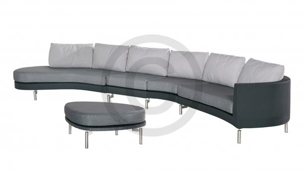 4 Seasons Outdoor Curve Loungeset