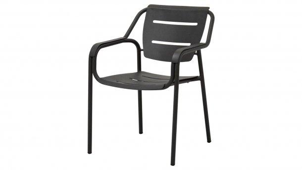 4seasons outdoor eco dining stoel antraciet