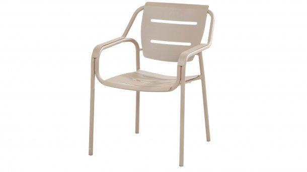 4seasonsoutdoor eco dining stapelstoel taupe