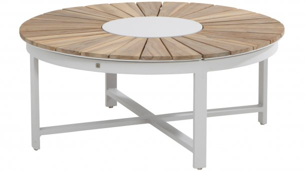 4 Seasons Outdoor Forio Salontafel Ø Frost Grey