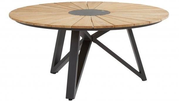 4 seasons outdoor globe sunrise tafel 160cm teak