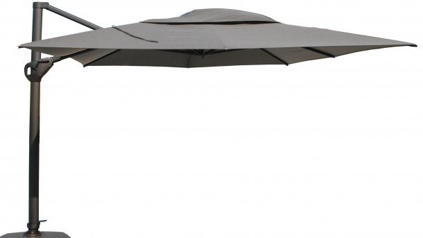 4Seasons hacienda charcoal charcoal parasol hang