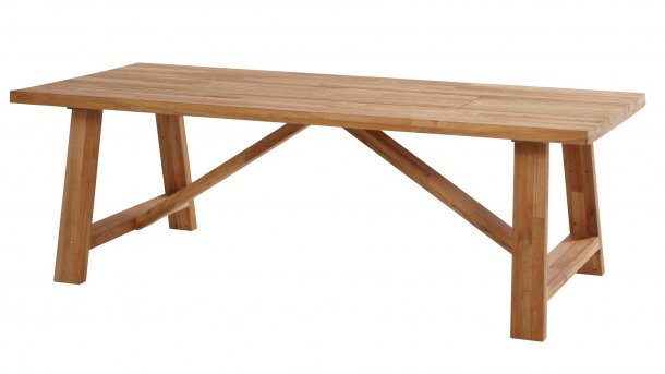 4seasons outdoor icon tafel teak 300