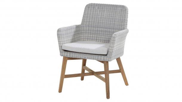 4 Seasons Outdoor lisboa dining teak ice chair
