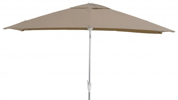 4 Seasons Outdoor Madera Parasol 200x300cm Taupe