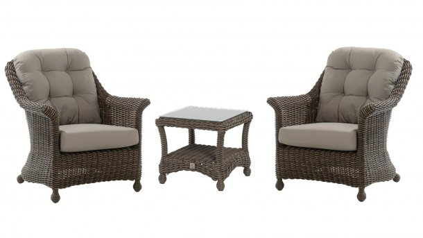 4 seasons outdoor madoera loungeset colonial