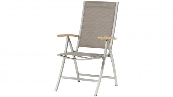 4 seasons outdoor nexxt verstelbare stoel mocca