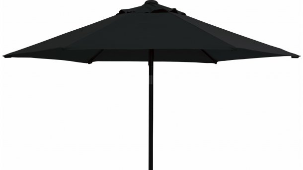 4 Seasons Outdoor Push Up Parasol Ø 250cm Antraciet