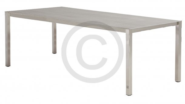 4 seasons outdoor rivoli tafel rvs keramiek rocha 220 cm