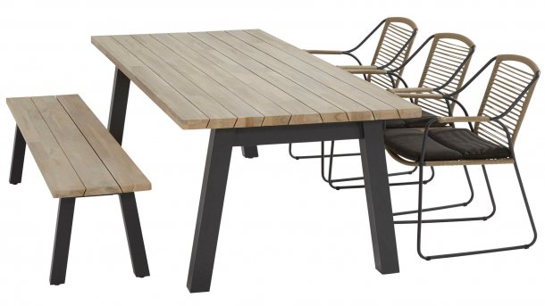 4 seasons outdoor scandic diningset