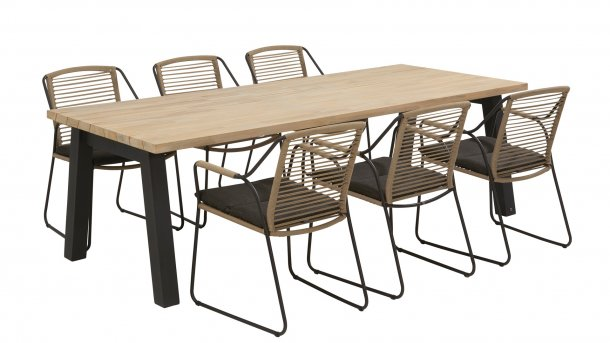 4 Seasons Outdoor Scandic Tuinset derby table