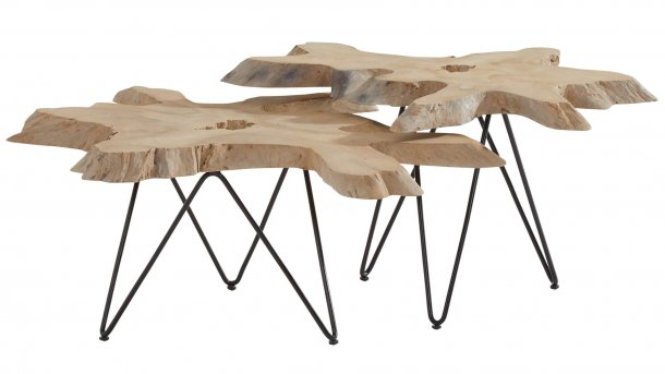 4 seasons outdoor sumatra salontafel set driftwood