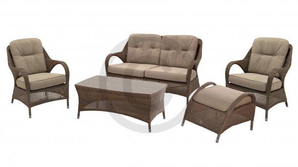 4 seasons outdoor sussex loungeset