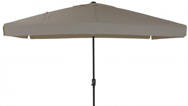 4 Seasons Outdoor Toledo Parasol 200x300cm Taupe