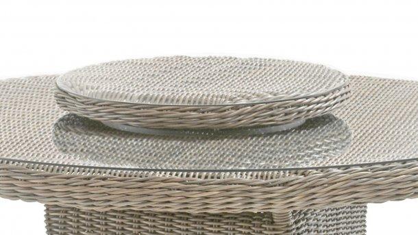4seasons outdoor lazy susan 55cm pure