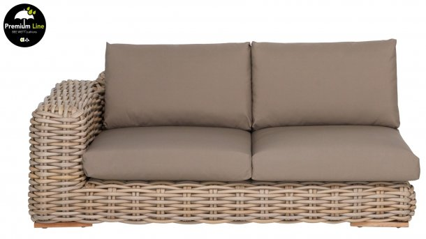 apple bee fff love seat rechts silk