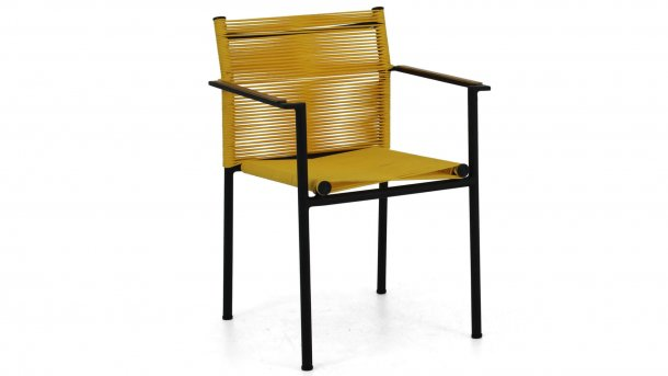 applebee jakarta dining stoel yellow