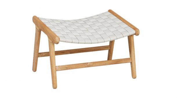 applebee juul lounge footrest natural