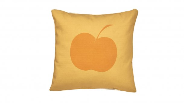 sierkussen applebee vierkant oranje