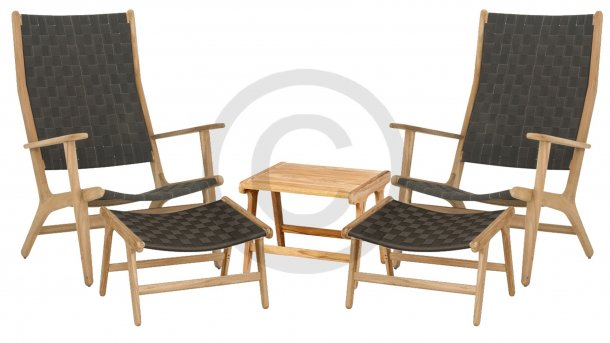 applebee luc loungeset highback