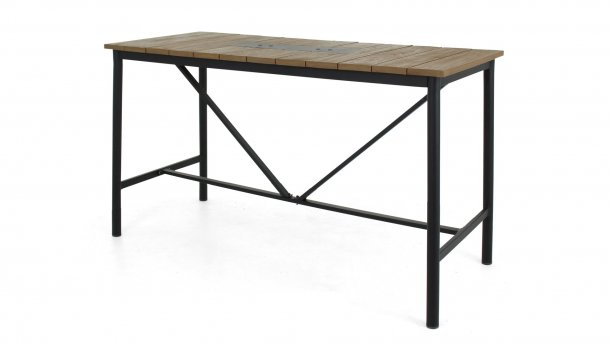 milou bar table black 150cm