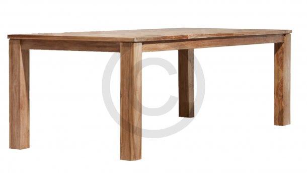 applebee oxford teak tafel 300cm natural smooth