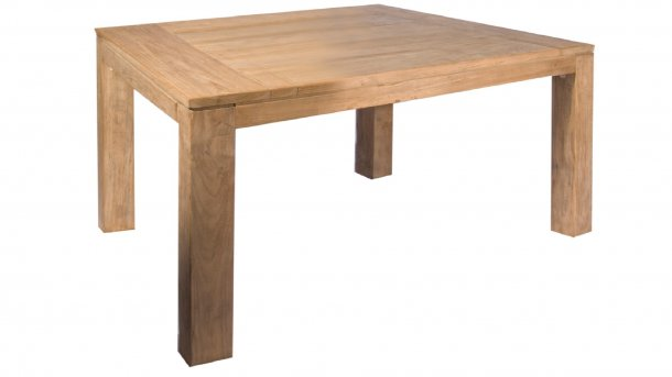 castleline luke teak tafel 150 cm vierkant