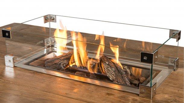 inbouwbrander rechtoek sfeer met glasset