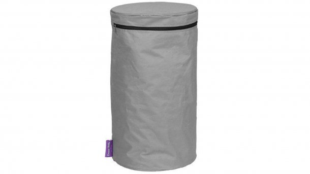 Happy Cocooning PVC Cover Rond Grijs