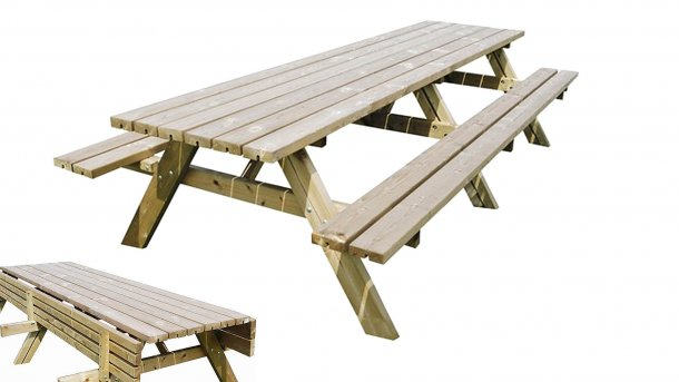 sensline oslo picknickbank 300cm