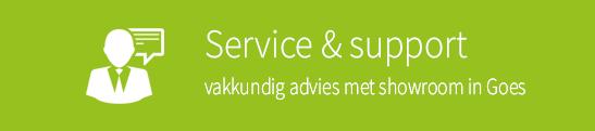 service en support