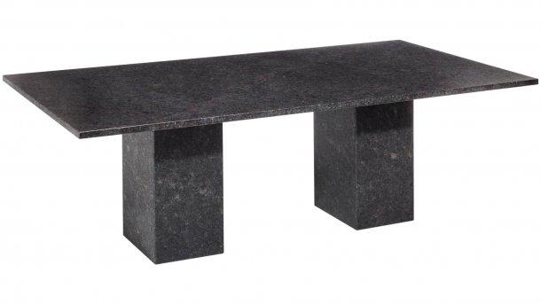 studio 20 viking tafel graniet 240cm pearl black satinado