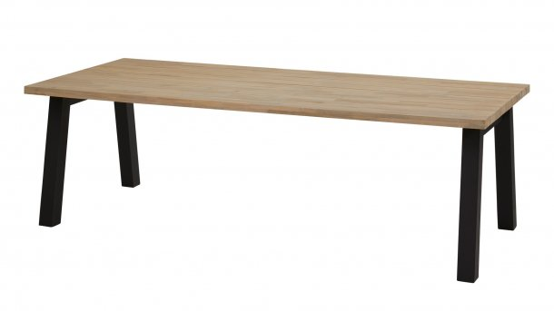 taste 4seasons derby tafel 240cm antraciet