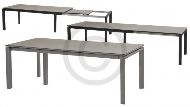 taste by 4seasons senator uitschuiftafel slate grey