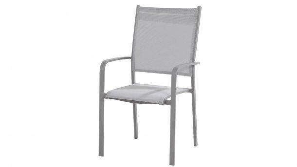 tosca slate grey dining stoel high back