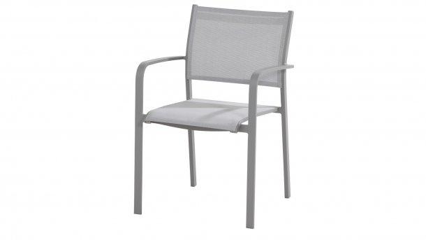 Taste by 4 Seasons tosca slate grey dining stoel