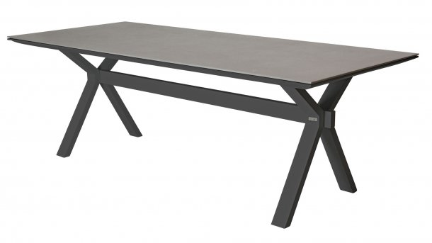 taste 4seasons vesper tafel matt carbon spraystone