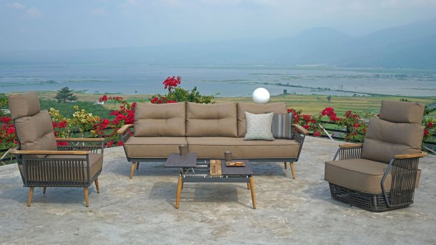 zebra flix lounge set