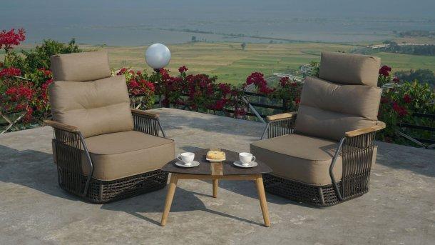 zebra flix lounge set draai stoel